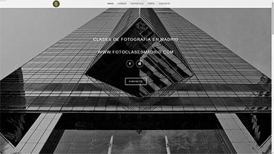 Portafolio Web Class Photography Madrid