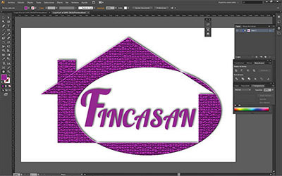 Portafolio logotype fincasan