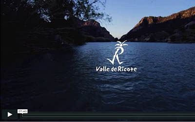 Vídeo valle Ricote